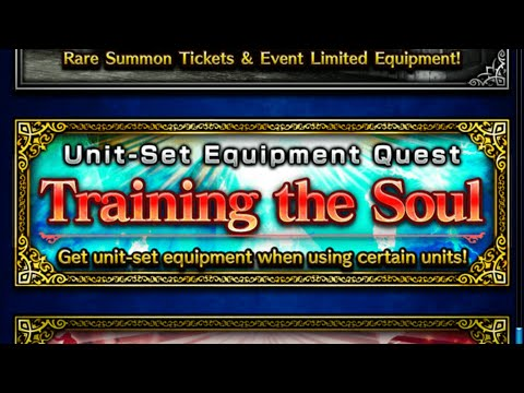 FFBE global Training the soul all missions cleared.