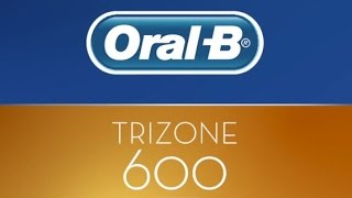 Oral-B TriZone 600 electric toothbrush