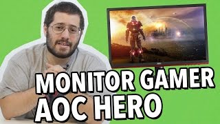 review monitor gamer aoc hero