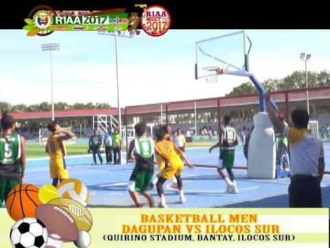 Basketball Men (secondary) : Dagupan Vs Ilocos Sur