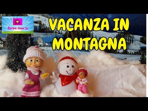 Le avventure di Masha:(EP.30) VACANZA IN MONTAGNA