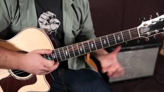 Bon Jovi - Blaze of Glory - Guitar Lesson - Tutorial - Chords, Slide Guitar Easy Acoustic Songs