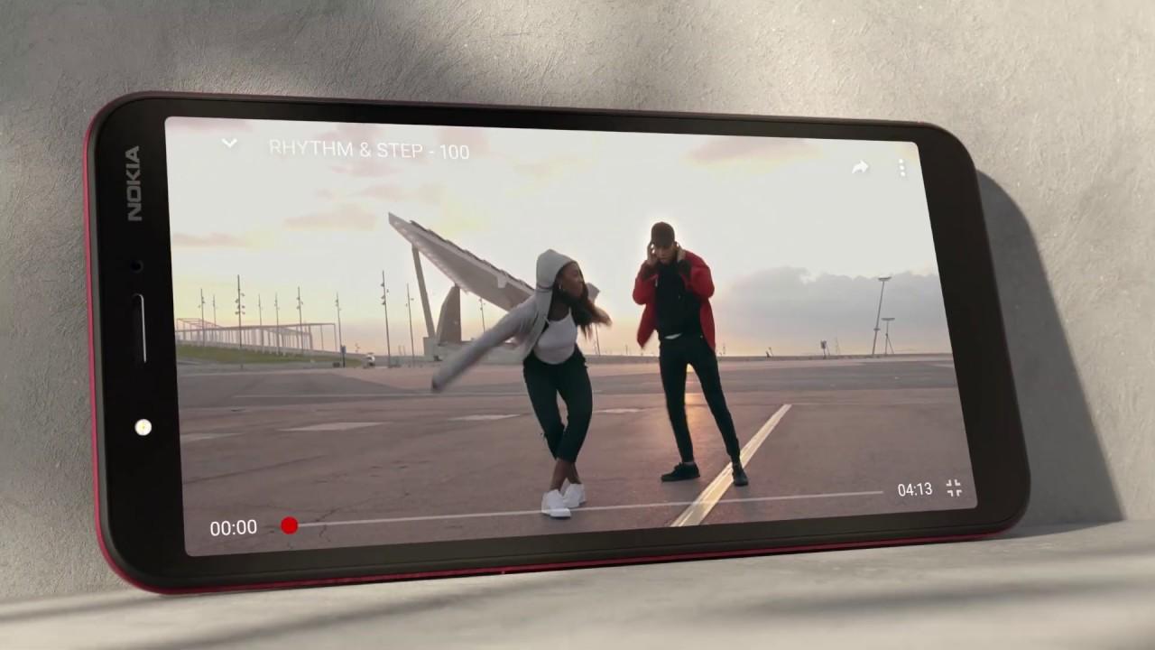 Nokia C1 - Level up - YouTube