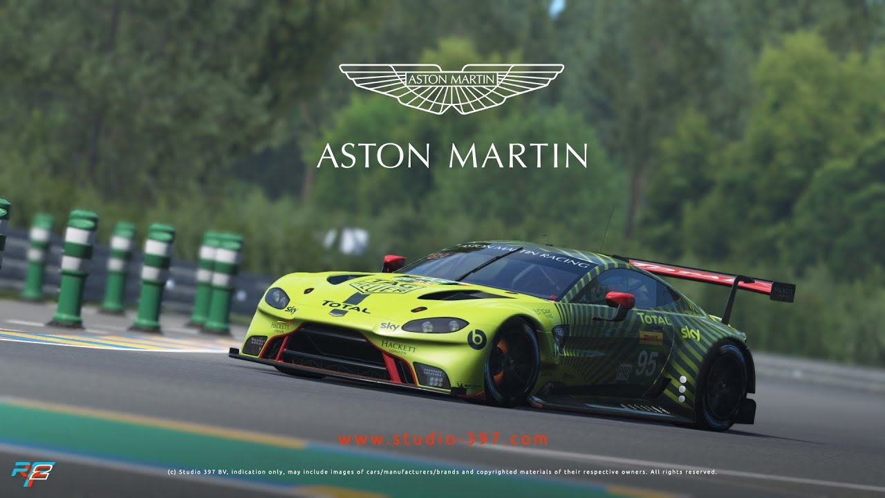 Introducing The Aston Martin Vantage Gte For Rfactor 2 Youtube
