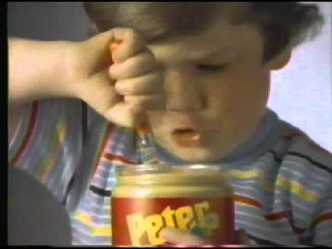 1983 Peter Pan Peanut Butter Commercial Youtube