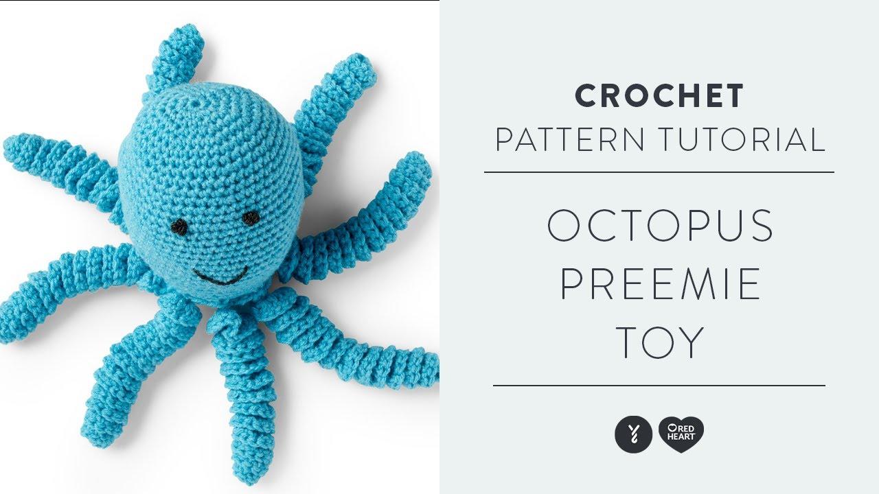 Crochet an Octopus Amigurumi for Preemies - Petit Bout de Chou   720x1280