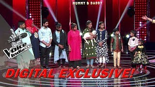 Fazil's Family Surprises Him On Stage | Moment | The Voice India Kids - Season 2