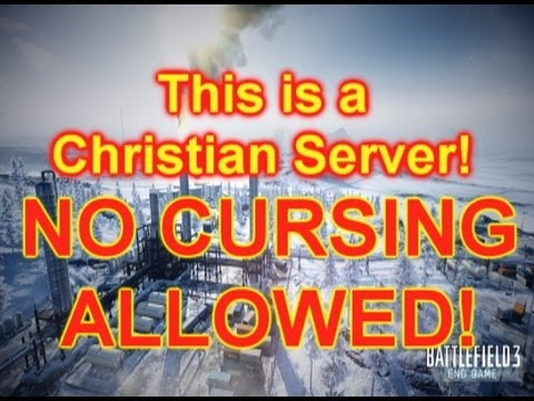 This Is A Christian Server No Cursing Allowed!