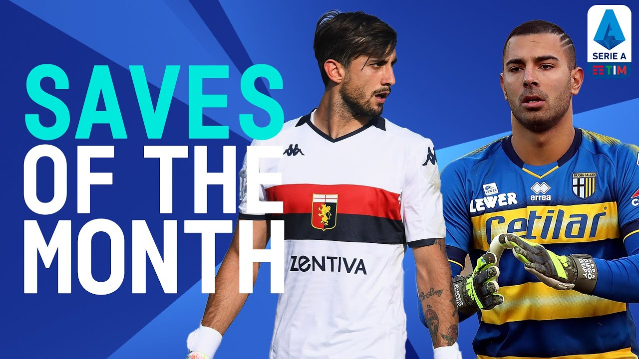 Mattia Perin's Incredible Save from CR7!   Saves of the Month   June 2020   Serie A TIM