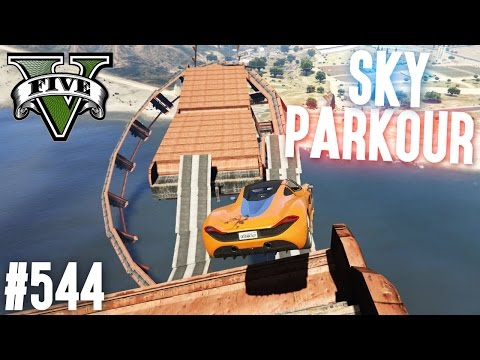 OLDSCHOOL SKY PARKOUR - KAMPF GEGEN KEV! (+DOWNLOAD) | GTA 5 - CUSTOM MAP RENNEN