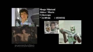 Antes e Depois: Jaspion, Changeman, Jiraya, Flashman, Cybercops, Kamen Rider, Winspector e Cia
