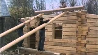 Traditional Finnish Log House Building Process thumbnail