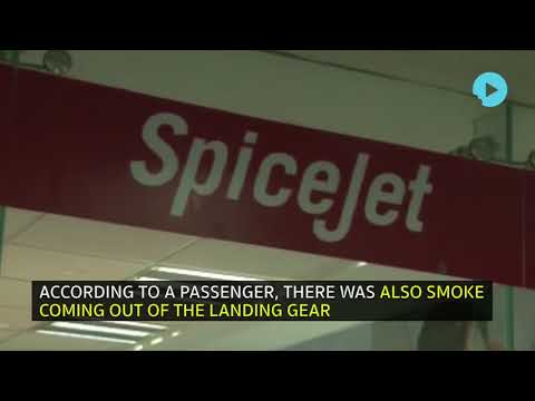 Spicejet Plane Has A Narrow Escape At Mumbai Airport