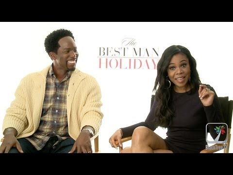 Regina Hall and Harold Perrineau on The Best Man Holiday s