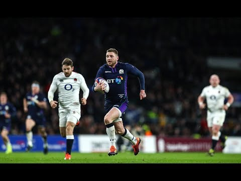 Finn Russell scores sensational try to draw both sides! | Guinness Six Nations
