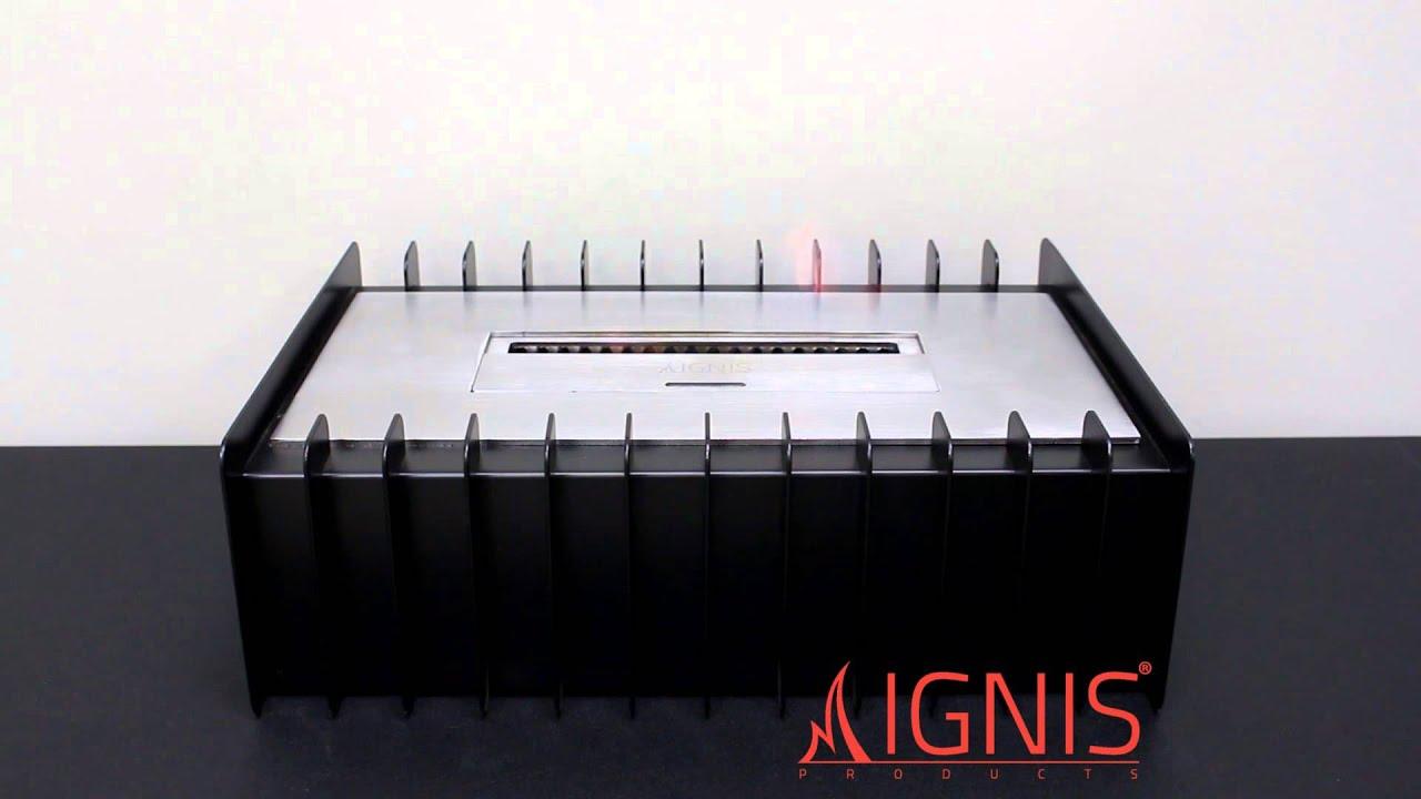 ignis ethanol fireplace grate ebg1400 youtube