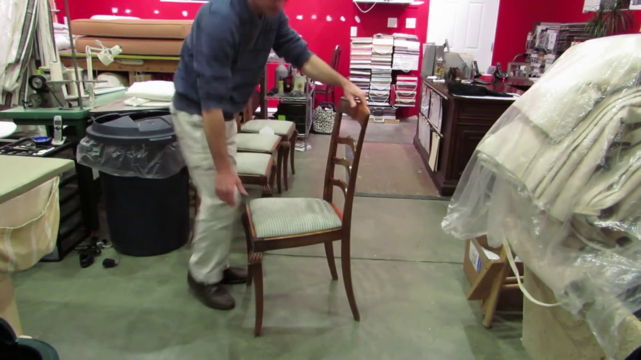 Repair Those Loose Dining Chairs Yourself And Save Money. Do You Know What  To Do?   YouTube