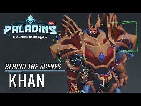 Paladins - Behind the Scenes - Khan, Primus of House Aico