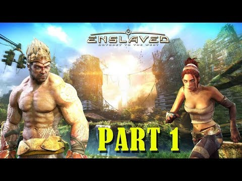 Download Enslaved: Odyssey to the West PC Gameplay Walkthrough - part 1