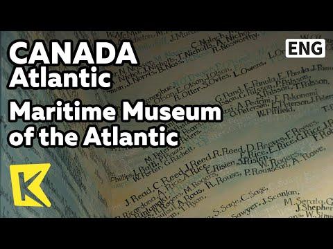 【K】Canada Travel-Atlantic[캐나다 여행-애틀랜틱] 타이타닉 침몰, 대서양 해양박물관/Maritime Museum Atlantic/Titanic/Sink