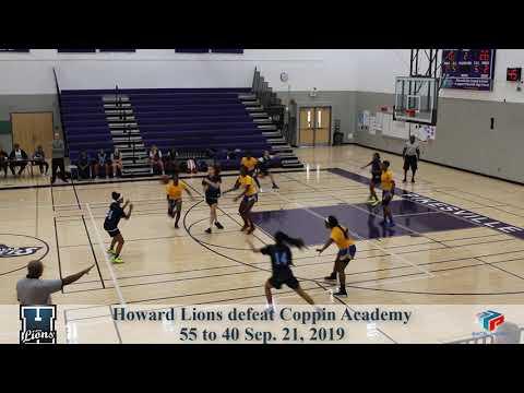 Howard VS Coppin Academy Highlights Sep 21, 2019