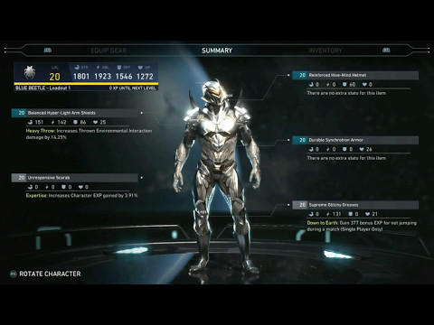 Injustice 2 Gear Loadout Images (Updated)