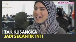 MasyaAllah 💥 Reaksi Bule-bule Non Muslim Saat Pertama Kali Mengenakan Hijab