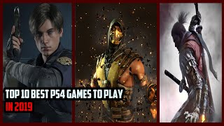 The Best Ps4 Games Of 2019 (so Far)