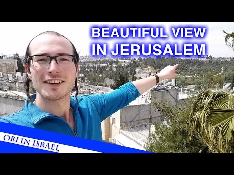 THE #1 VIEW IN JERUSALEM!