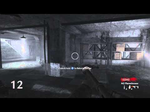 COD WAW Zombies Nacht Der Untoten Solo Strategy XBOX 360