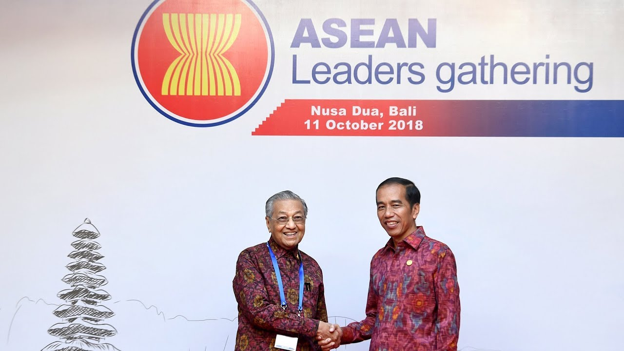 Tun M addresses Asean leaders in Bali