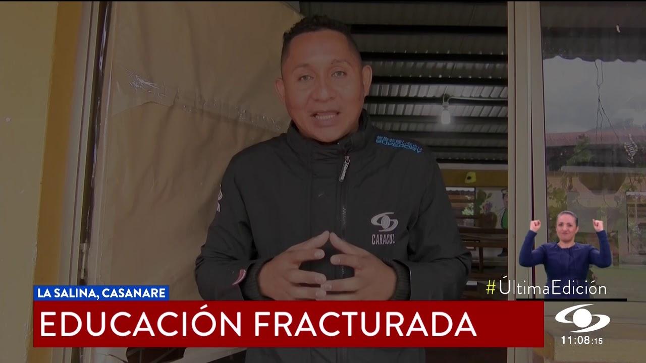 EDUCACIÓN FRACTURADA, CERCA DE 200 NIÑOS QUEDARON SIN COLEGIO POR CUENTA DE UNA FALLA GEOLÓGICA