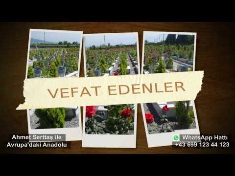 18 Mart Avrupa'daki Anadolu Gurbet'de Vefat Edenler
