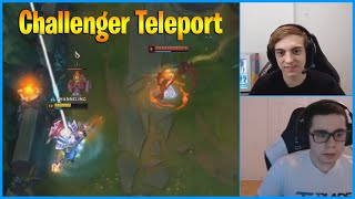 That's How TF Blade Teleports in Challenger...LoL Daily Moments Ep 1023