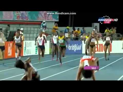 4x100 Women Final World Relays 2014 Bahamas