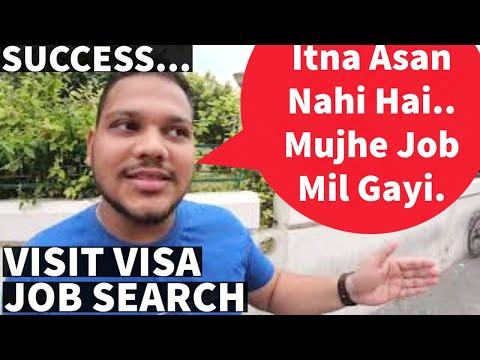 DUBAI SUCCESS STORY - VISIT VISA JOB SEARCH 2020 🔥🔥 Kya Dubai Mein Sabhi Ko Job Mil Jati Hai??
