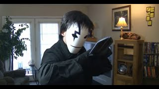 DIY Black Reaper Mask & Knife from Darker than Black