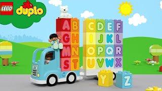 Alphabet Song   NEW!   LEGO DUPLO   Kids Learning Videos   Nursery Rhymes