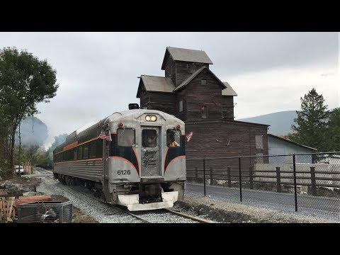 First day of Berkshire Scenic RR excursions to Hoosac St