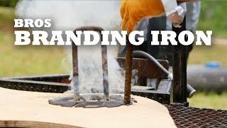 Bros Branding Iron