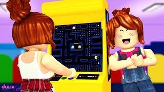 Roblox - LOJA DE GAMES MINEGIRL (Arcade Tycoon)