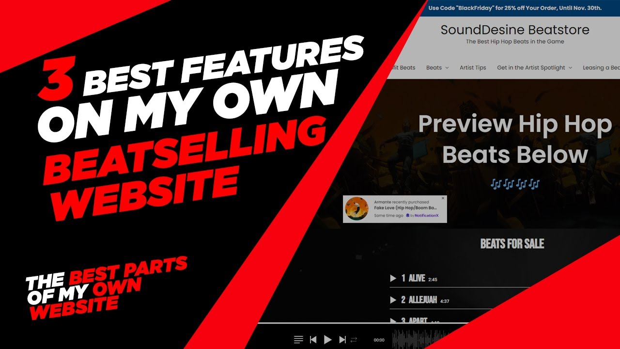3 Reasons you NEED to have your OWN Beat-Selling Website (Selling Beats Online)