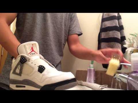 How I Clean Jordan 4's