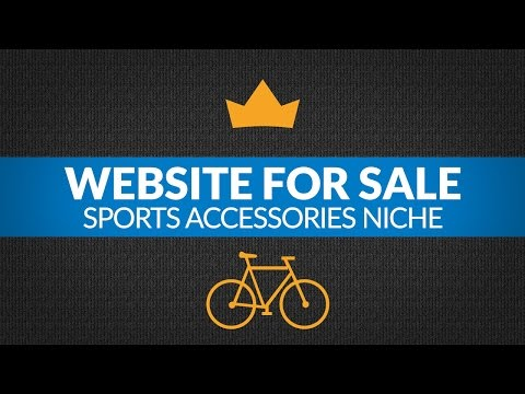 Website For Sale – $3.5K/Month in Sports Accessories Niche, Passive Income Amazon FBA Business