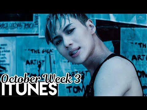 [TOP 30] US iTunes Kpop Chart 2017 [October Week 3]