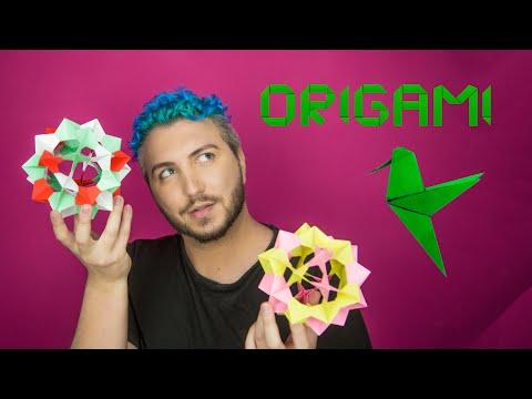 Оригами топка (защото коронавируса е селянка)