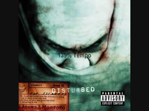 Disturbed - Stupify Speed Tempo 139%