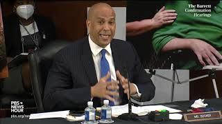 WATCH: Sen. Cory Booker's full opening statement in Barrett Supreme Court confirmation hearing