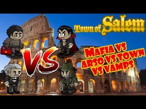 Town of Salem: Vamps vs Mafia vs Town vs Fire