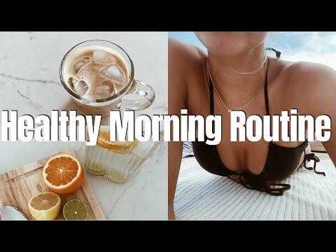 Healthy Summer Morning Routine | Rachel Ratke